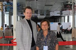 Дмитрий Кот и наш автор Ирина Губернаторова
